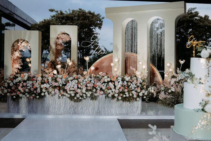 Glen & Felienda Wedding Decoration by Valentine Wedding Decoration - 002