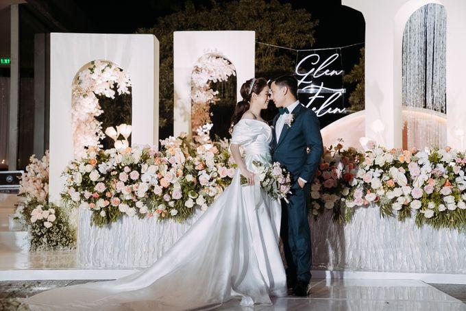 Glen & Felienda Wedding Decoration by Valentine Wedding Decoration - 005