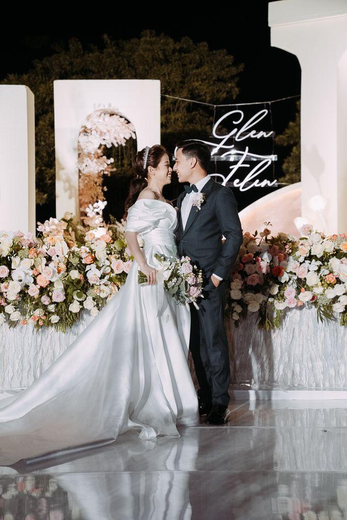 Glen & Felienda Wedding Decoration by Valentine Wedding Decoration - 004