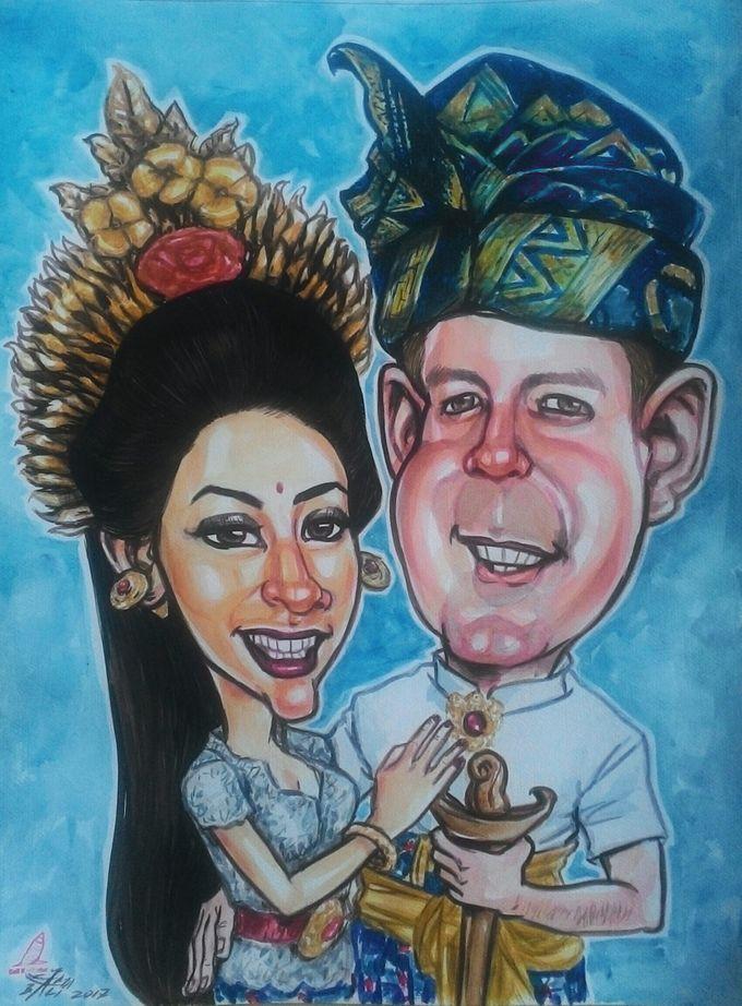 Wedding Souvenir by Bali Karikatur - 017
