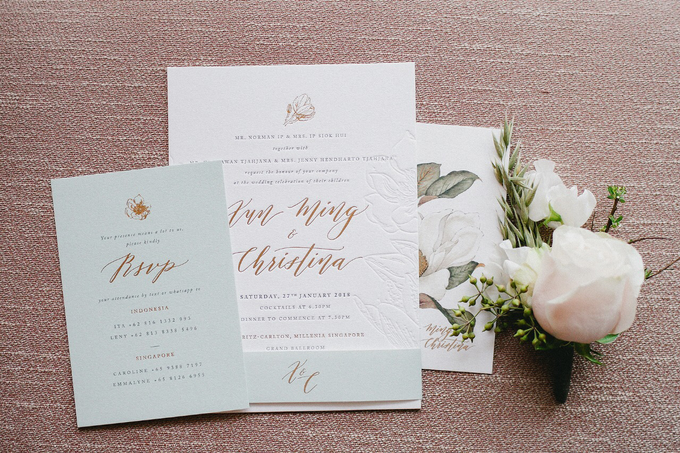 Magnolia by Pensée invitation & stationery - 002