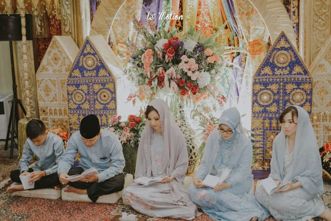 Traditional Sundanese and Minang Fusion Wedding of Felli & Reza by Le Motion - 004