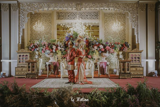 Dhea & Ridho Traditional Palembang Wedding by Le Motion - 046