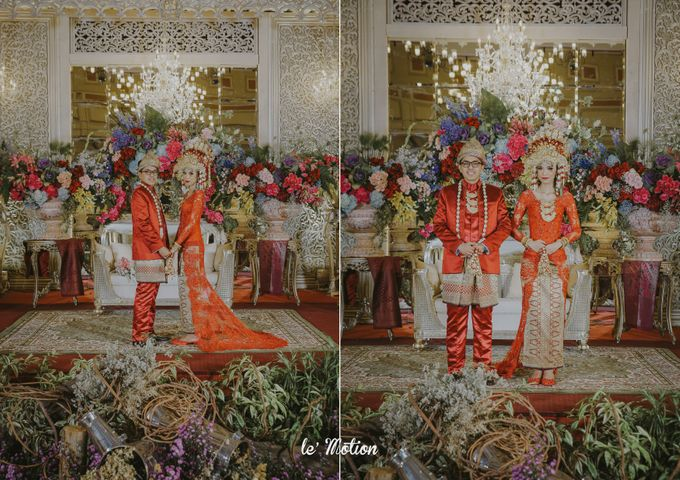 Dhea & Ridho Traditional Palembang Wedding by Le Motion - 047