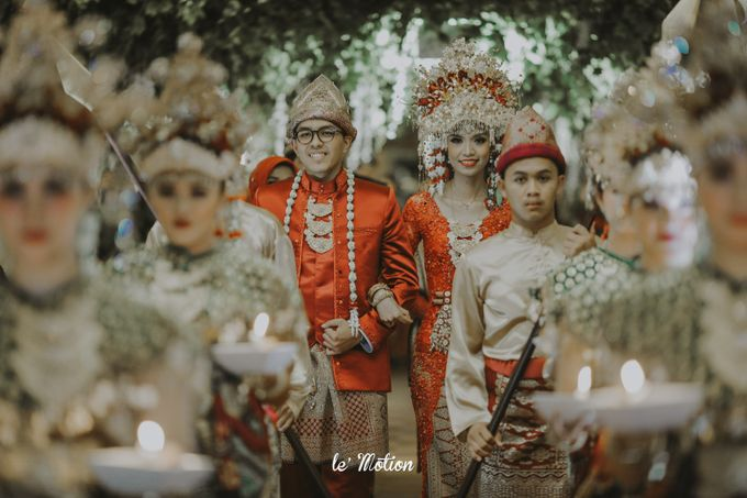 Dhea & Ridho Traditional Palembang Wedding by Le Motion - 039