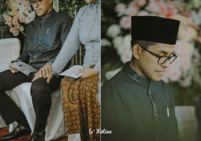 Dhea & Ridho Traditional Palembang Wedding by Le Motion - 002