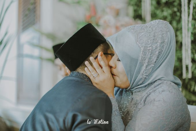 Dhea & Ridho Traditional Palembang Wedding by Le Motion - 004