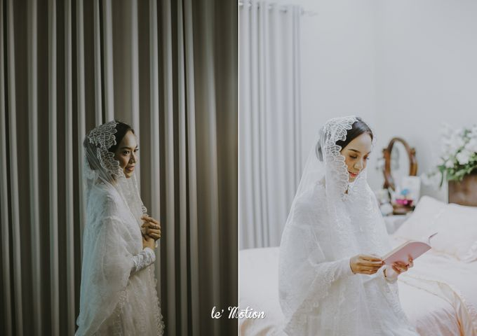 Dhea & Ridho Traditional Palembang Wedding by Le Motion - 007