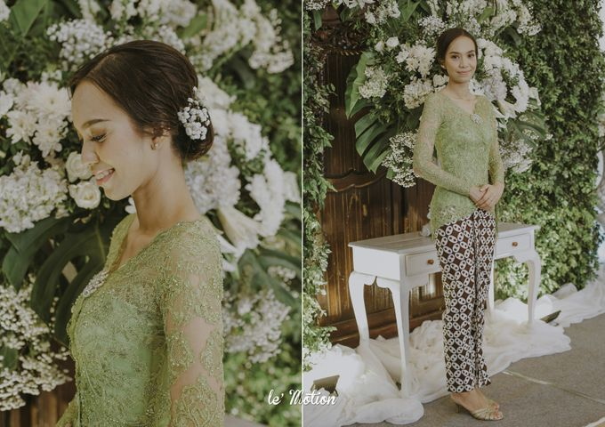 Dhea & Ridho Traditional Palembang Wedding by Le Motion - 017
