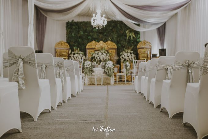 Dhea & Ridho Traditional Palembang Wedding by Le Motion - 020