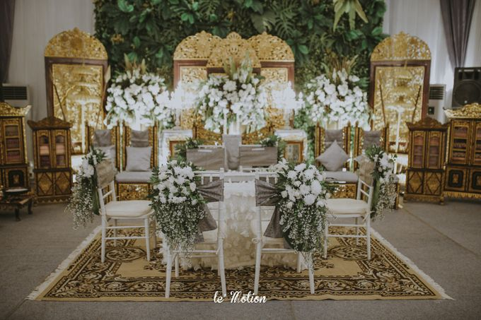 Dhea & Ridho Traditional Palembang Wedding by Le Motion - 022