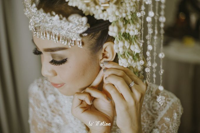 Dhea & Ridho Traditional Palembang Wedding by Le Motion - 024