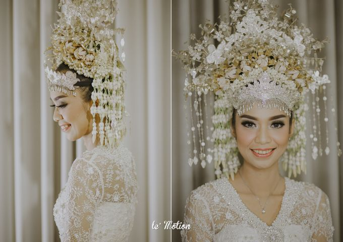 Dhea & Ridho Traditional Palembang Wedding by Le Motion - 025
