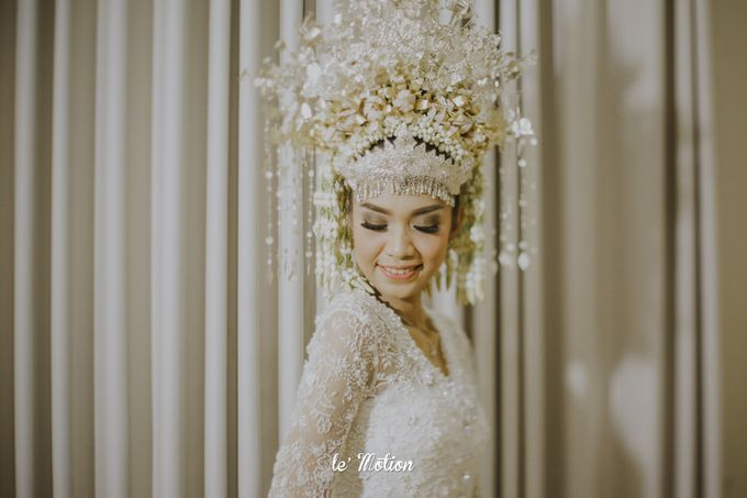 Dhea & Ridho Traditional Palembang Wedding by Le Motion - 026