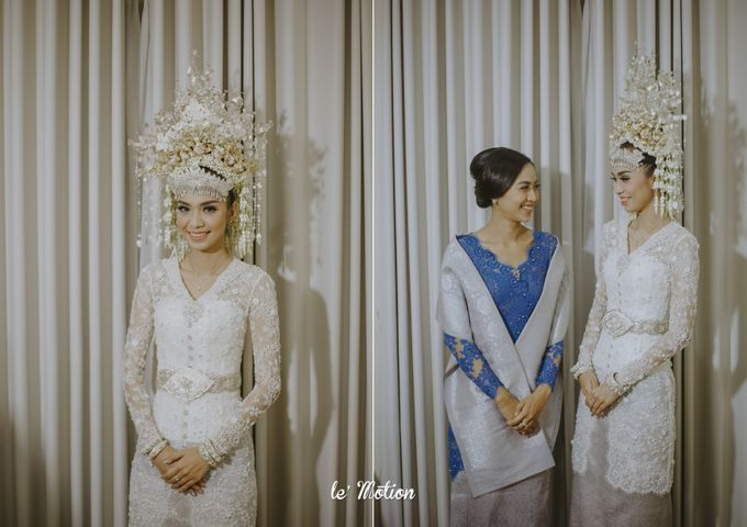 Dhea & Ridho Traditional Palembang Wedding by Le Motion - 027