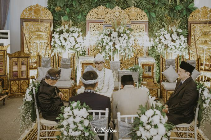 Dhea & Ridho Traditional Palembang Wedding by Le Motion - 028
