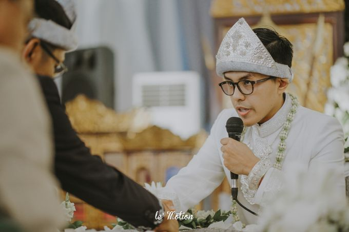 Dhea & Ridho Traditional Palembang Wedding by Le Motion - 030