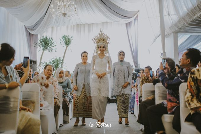 Dhea & Ridho Traditional Palembang Wedding by Le Motion - 031