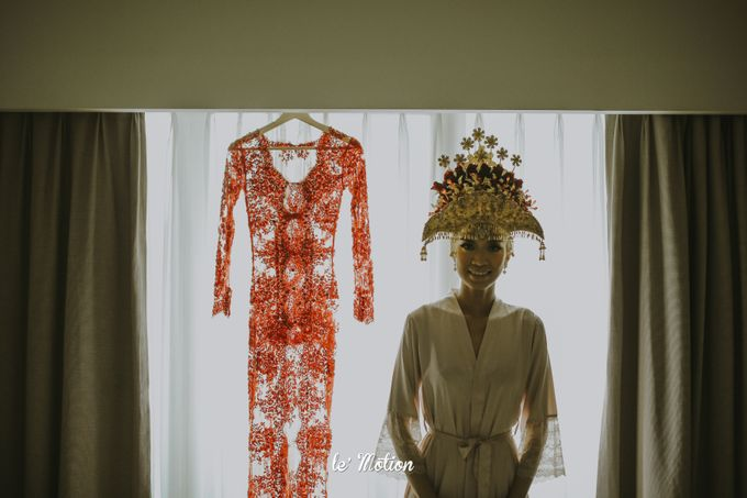 Dhea & Ridho Traditional Palembang Wedding by Le Motion - 034
