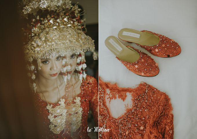Dhea & Ridho Traditional Palembang Wedding by Le Motion - 035