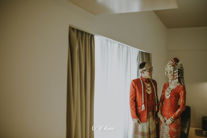 Dhea & Ridho Traditional Palembang Wedding by Le Motion - 036