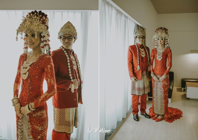 Dhea & Ridho Traditional Palembang Wedding by Le Motion - 037