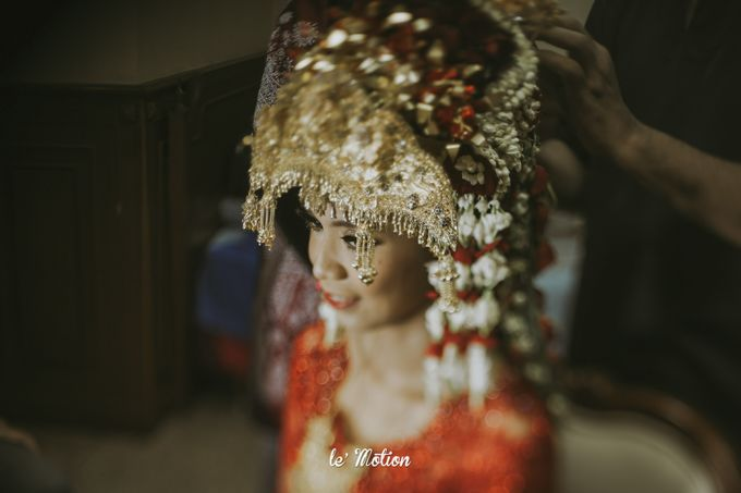 Dhea & Ridho Traditional Palembang Wedding by Le Motion - 038