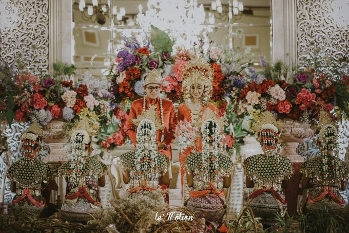 Dhea & Ridho Traditional Palembang Wedding by Le Motion - 040