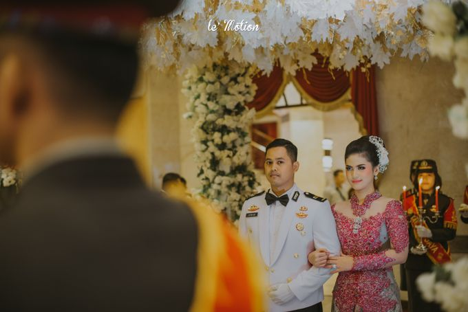 Irwan & Ratih Wedding with Pedang Pora Ceremony by Le Motion - 021