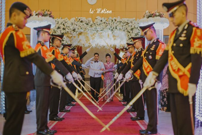 Irwan & Ratih Wedding with Pedang Pora Ceremony by Le Motion - 022