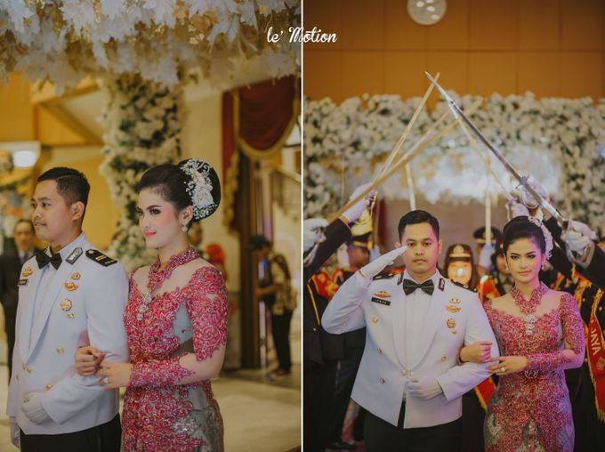 Irwan & Ratih Wedding with Pedang Pora Ceremony by Le Motion - 023