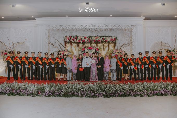 Irwan & Ratih Wedding with Pedang Pora Ceremony by Le Motion - 026