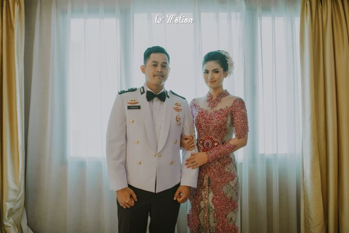Irwan & Ratih Wedding with Pedang Pora Ceremony by Le Motion - 013