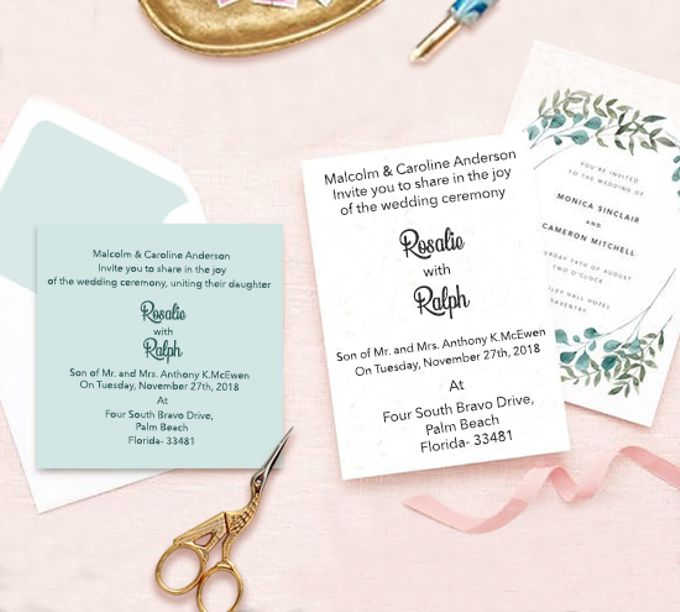 Announcement Invitation Cards by 123WeddingCards by 123WeddingCards - 006