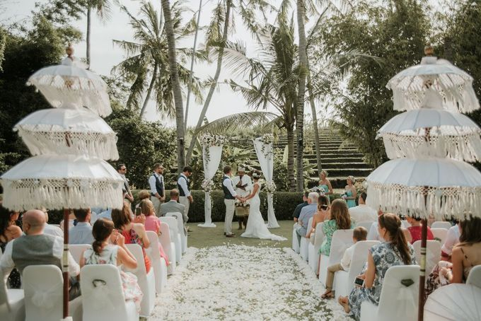 Wedding in Chalina Estate in Canggu by StayBright - 007