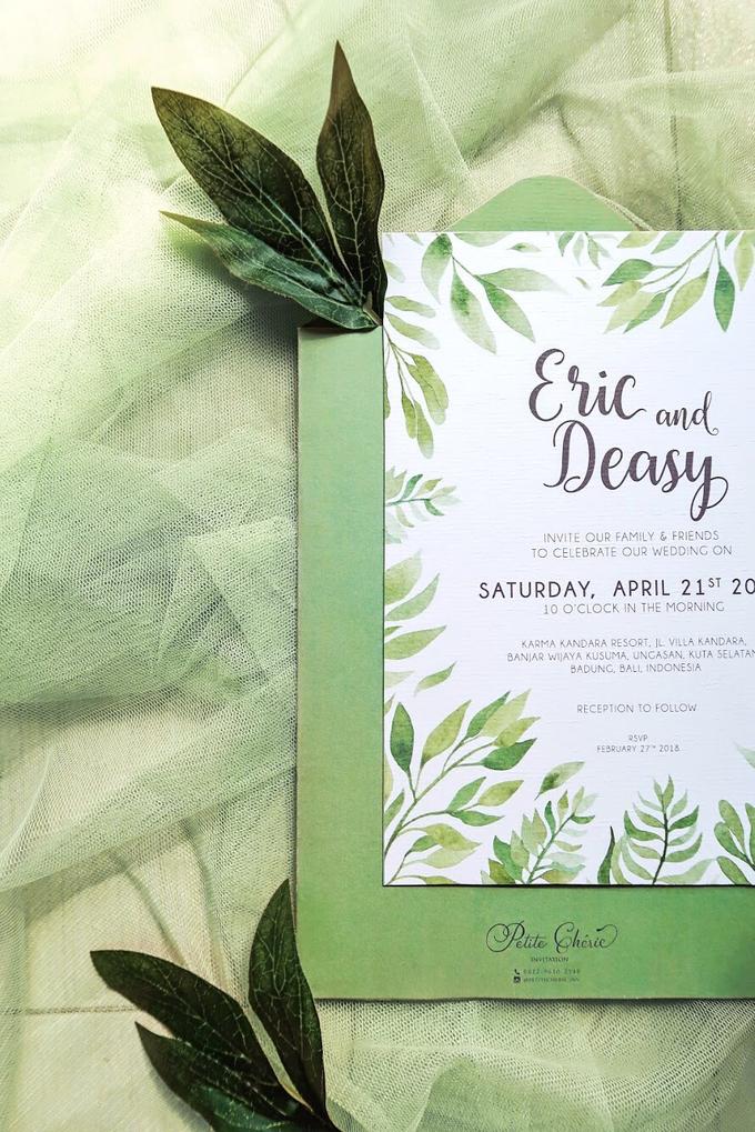 Eric & Deasy by Petite Chérie Invitation - 002