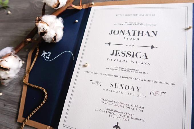 Jonathan & Jessica (no envelope type) by Petite Chérie Invitation - 002