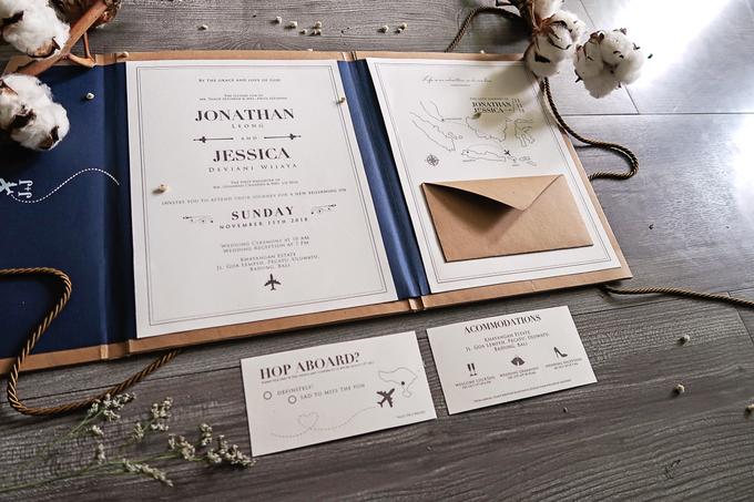 Jonathan & Jessica (no envelope type) by Petite Chérie Invitation - 004