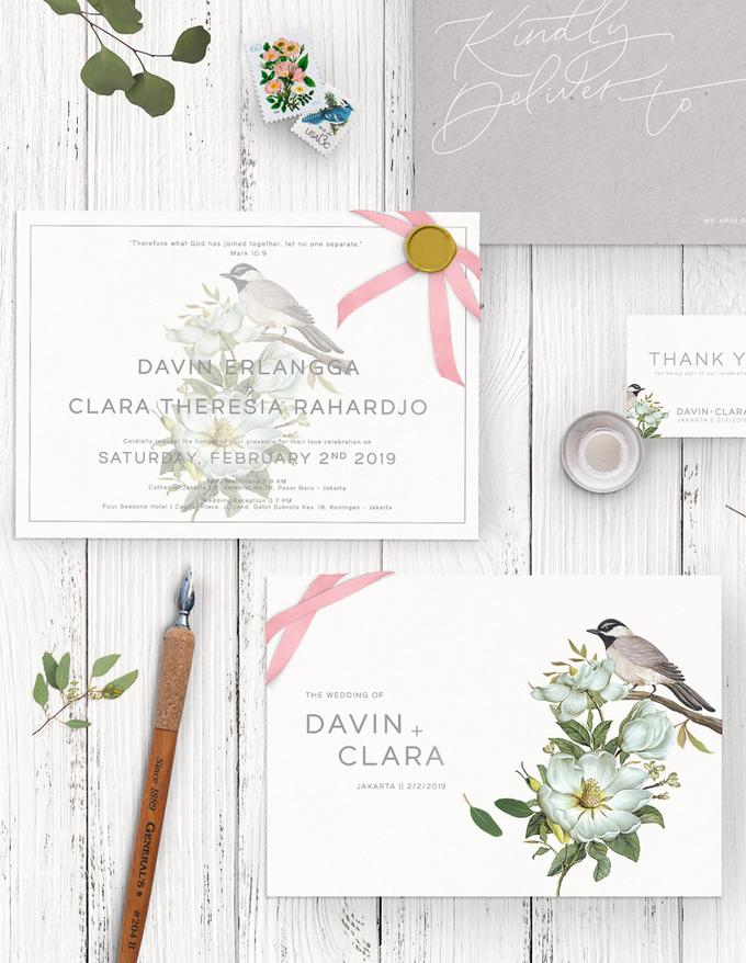 Davin + Clara by Petite Chérie Invitation - 004