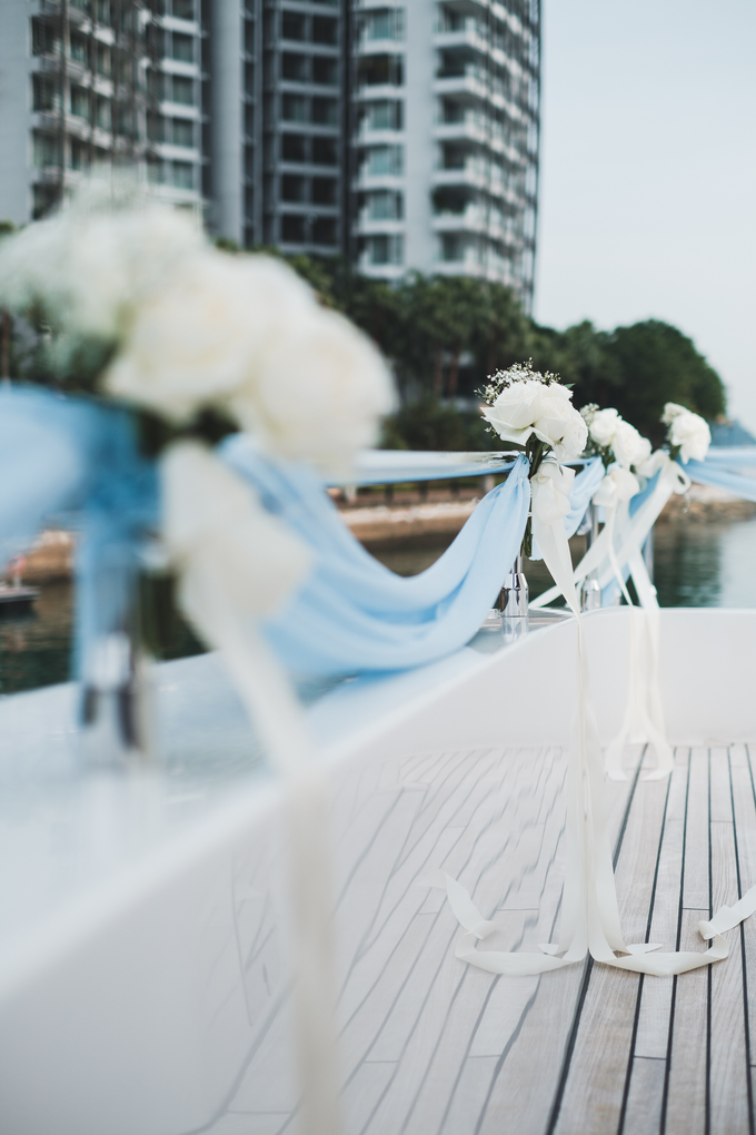 Yacht Wedding by Eagle Wings Yacht Charters Pte Ltd - 001