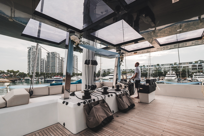 Yacht Wedding by Eagle Wings Yacht Charters Pte Ltd - 004