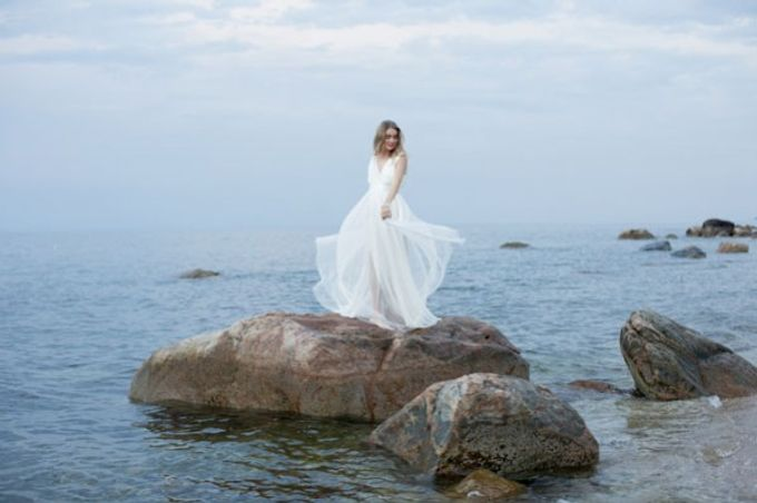 Montauk Wedding by Through The Veil - 004