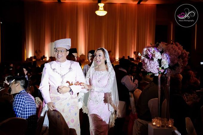 Wedding Reception of Rina & Faizal by The Glamorous Capture - 012