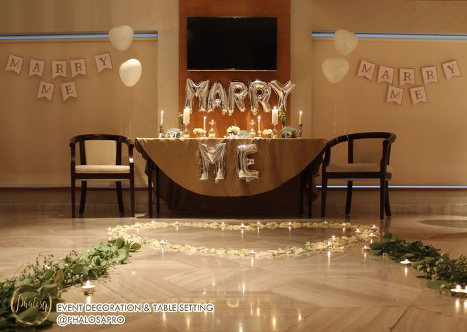 Harris & Silvia Proposal Day Decoration by Phalosa Event Decoration & Table Setting - 001