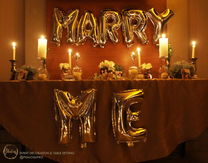 Harris & Silvia Proposal Day Decoration by Phalosa Event Decoration & Table Setting - 002