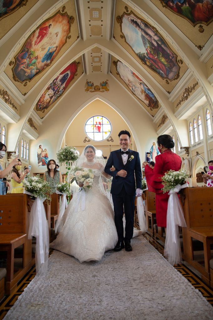 The Wedding of Hansen & Jessica by Lasika Production - 018