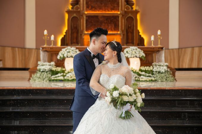The Wedding of Hansen & Jessica by Lasika Production - 022