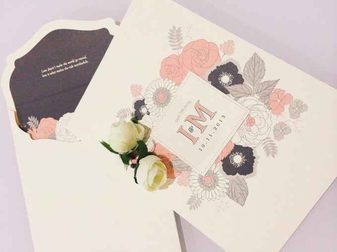The Wedding of Igwan & Maria by PAM'S INVITATIONS & STATIONERY - 002