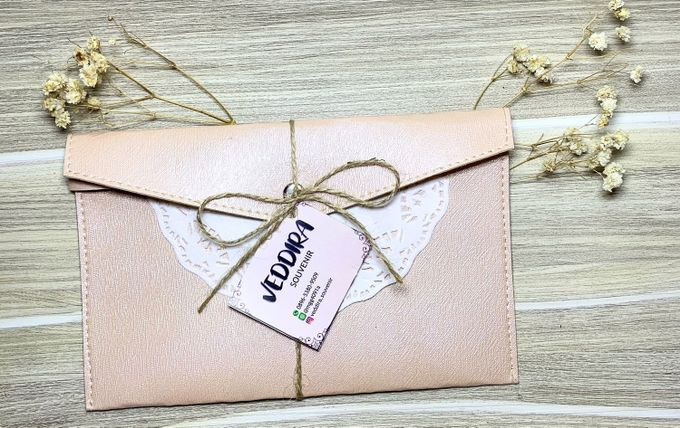Leather & Synthetic  Pouch by Veddira Souvenir - 003