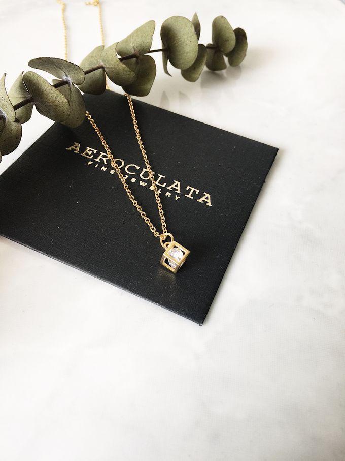 Mrs A - Custom Fine Gold Necklace by AEROCULATA - 003